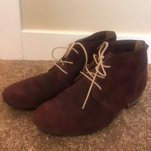 Oxford Suede Shoes